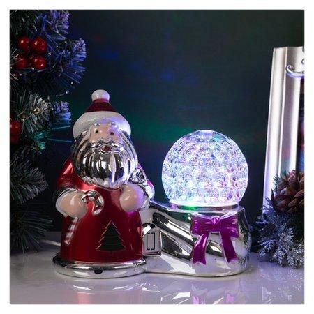 "Световая фигура ""Дед мороз и шар"", Led-3-220v  LuazON"