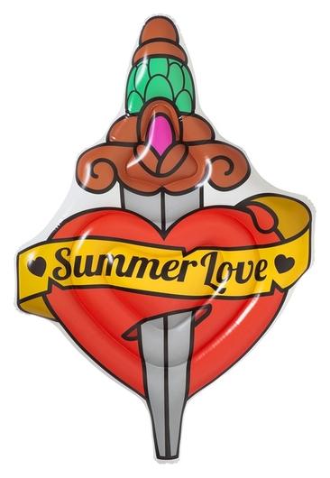 Матрас для плавания Summer Love Tattoo, 198 X 137 см, 43265 Bestway  Bestway