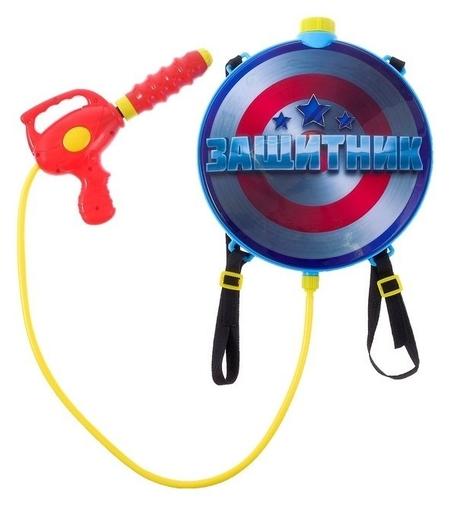 Водный пистолет «Защитник», с ранцем  Woow toys