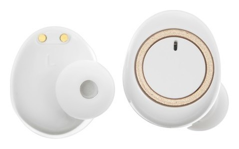 Наушники беспроводные Luazon Vbt-2.0, вакуумные, Bluetooth 5.0, 300 мАч бокс, белые LuazON
