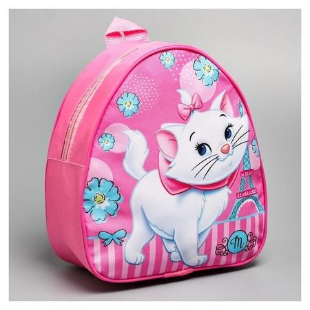 Рюкзак детский кожзам, коты аристократы, 21 х 25 см  Disney
