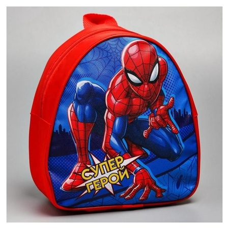 Рюкзак детский «Супер-герой», человек-паук, 21 X 25 см  Marvel