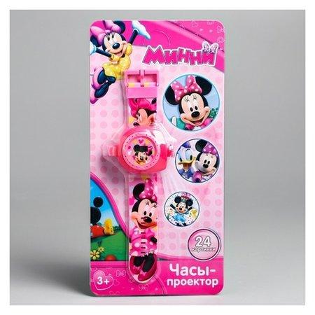 Часы с проектором «Минни маус», Disney  Disney