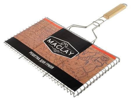 Решётка-гриль универсальная Maclay, нержавеющая сталь, размер 45 × 26 × 23 см  Maclay