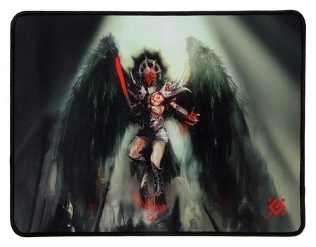 Коврик для мыши Defender Angel Of Death M, игровой, 360x270x3 мм, ткань+резина  Defender