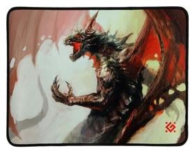 Коврик для мыши Defender Dragon Rage M, игровой, 360x270x3 мм, ткань + резина  Defender