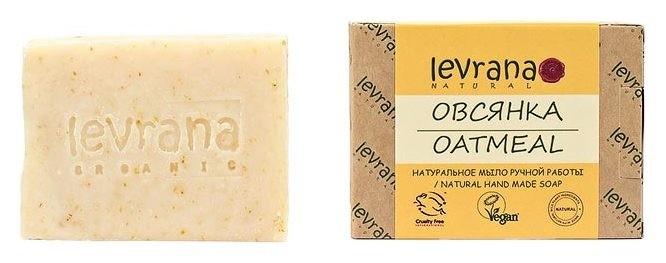 Натуральное мыло ручной работы Овсянка  Levrana