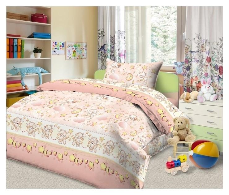 Детское детское постельное бельё «Сонный мишка»  Monro