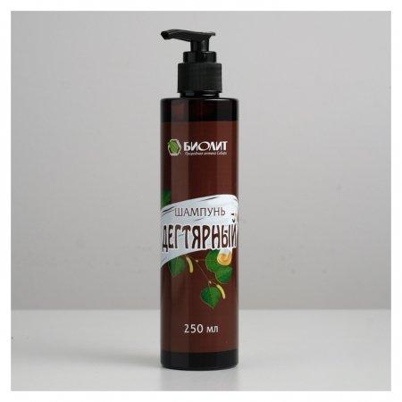 Дегтярный шампунь для волос противовоспалительный  Биолит