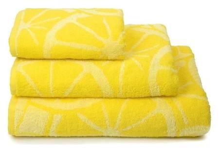 Полотенце махровое Lemon Color, 70х130 см, цвет жёлтый  Cleanelly