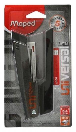 Степлер №24-26/6 25л Maped Universal Metal метал,400 скоб в компл 039200  Maped