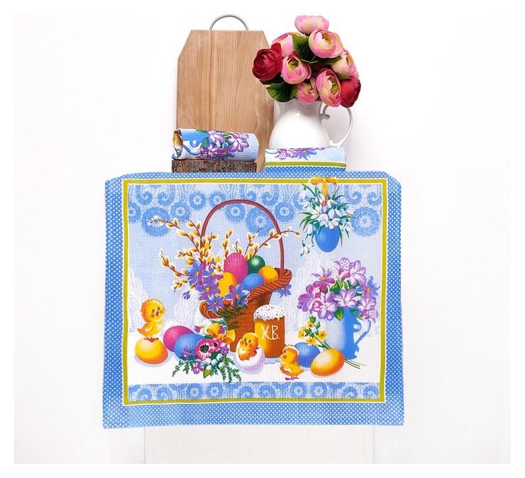 Набор полотенец Светлый праздник, 50х60 см 3 шт в коробке  DomoVita