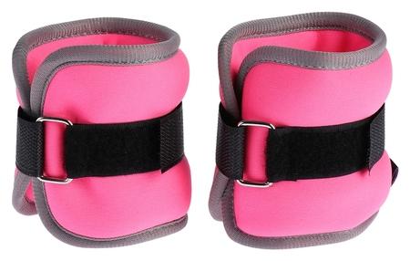 Утяжелитель неопреновый 0,25 кг (Вес пары 0,5 кг), цвет розовый  Onlitop