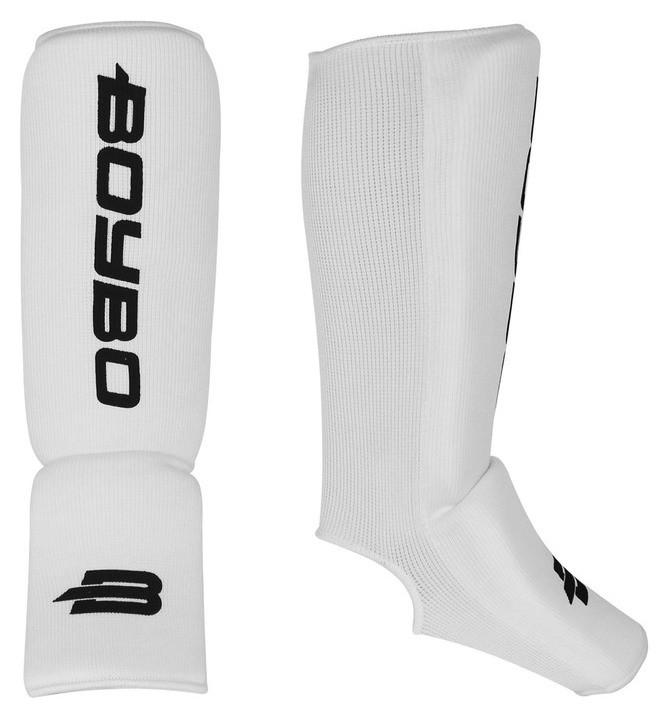 Защита голеностопа Boybo, х/б, цвет белый, размер S  Boybo