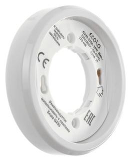 Светильник накладной Ecola 5356, Gx53, Ip20, 220 В, 18x95 мм, белый Ecola