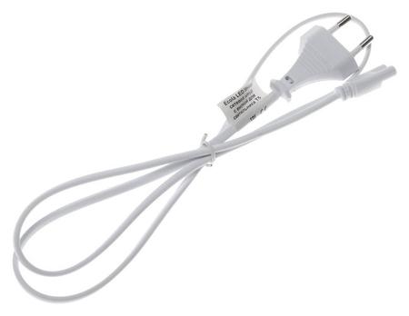 Шнур сетевой Ecola LED Linear, для светильника T5 с вилкой, 1 м  Ecola