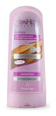 Шампунь восстанавливающий, питательный для окрашенных и поврежденных волос  Флоресан (Floresan)