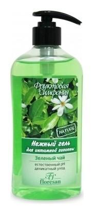 """Нежный гель для интимной гигиены """"Зеленый чай""""  Флоресан (Floresan)"""