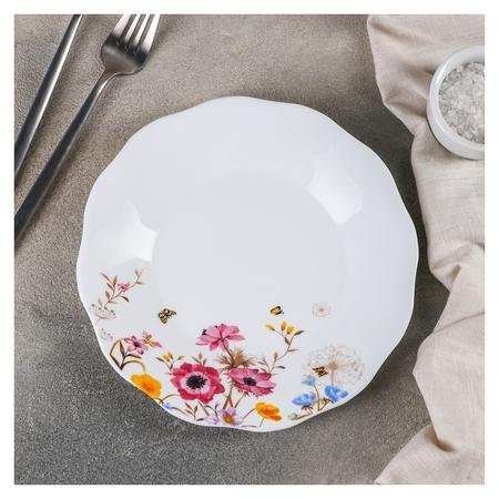 Тарелка обеденная «Летняя романтика», D=20,5 см  Доляна
