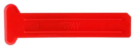 Скребок для беговых лыж и желобка, Ray, 125 х 40 / 25 х 3 мм  Ray