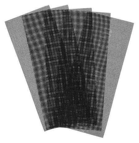 Сетка абразивная Tundra Pro, водостойкая, карбид кремния, 115 х 280 мм, р200, 5 шт.  Tundra