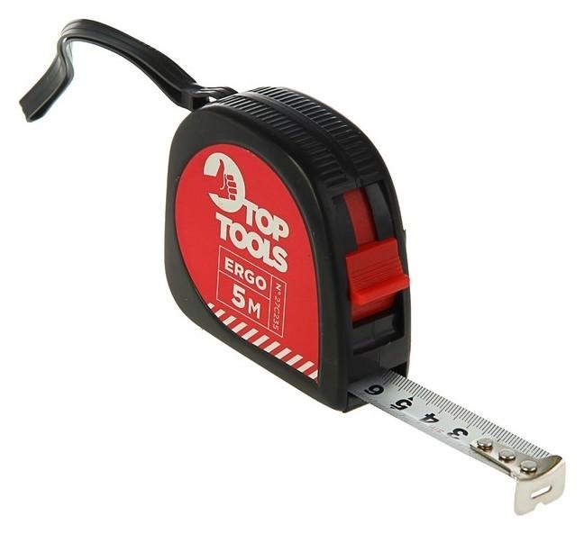 Рулетка Top Tools, 5 м X 16 мм, стальная лента  Top Tools