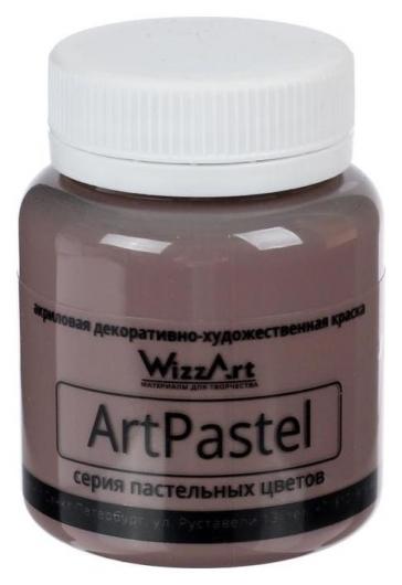 Краска акриловая Pastel 80 мл Wizzart умбра натуральная пастельный Wa20.80  WizzArt