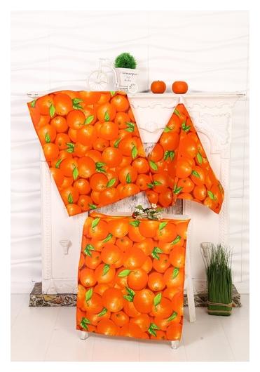 Полотенце апельсин 45х60 см, рогожка  DomoVita