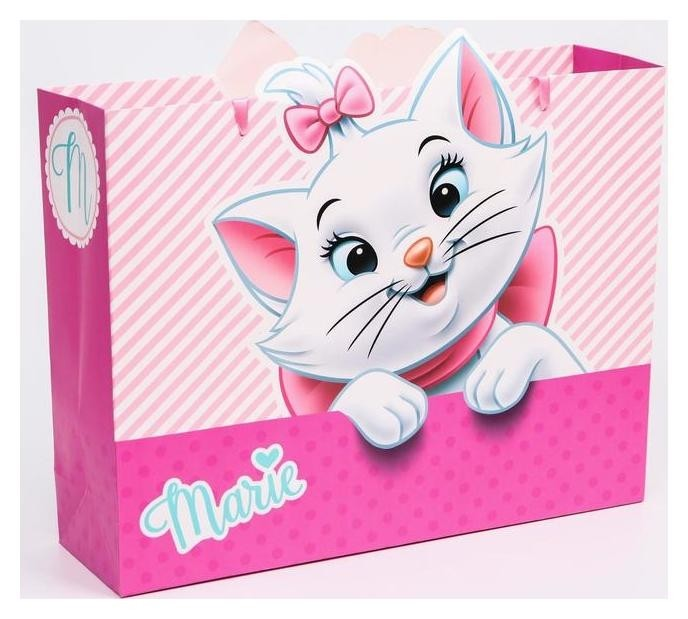 "Пакет ламинат горизонтальный ""Marie"", коты аристократы, 31х40х11  Disney"