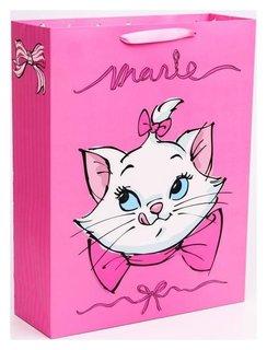 "Пакет ламинат вертикальный ""Marie"", коты аристократы, 31х40х11 см Disney"