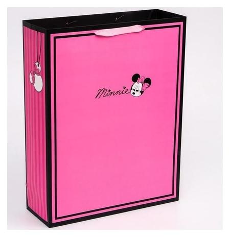 """Пакет ламинат вертикальный """"Minnie"""", минни маус, 31х40х11 см  Disney"""