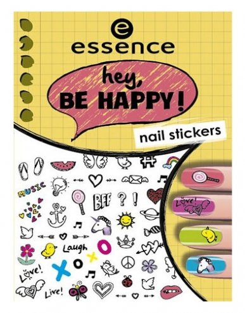 Наклейки для ногтей Hey, Be Happy! Nail Stickers 05  Essence