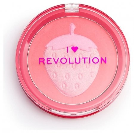 Румяна для лица Fruity Blusher Strawberry  I Heart Revolution
