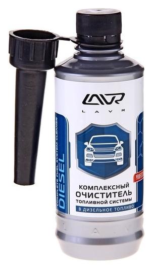 Очиститель топливной системы дизельных двигателей Lavr, присадка, на 40-60 л, 310 мл, флакон  Lavr