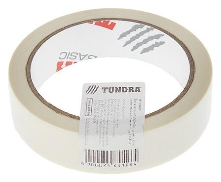 Лента малярная Tundra, 24 мм X 25 м, самоклеящаяся, бумажная основа  Tundra
