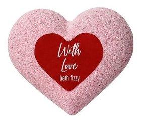 "Шипучая соль для ванн ""Сердце"" With Love Laboratory Katrin"