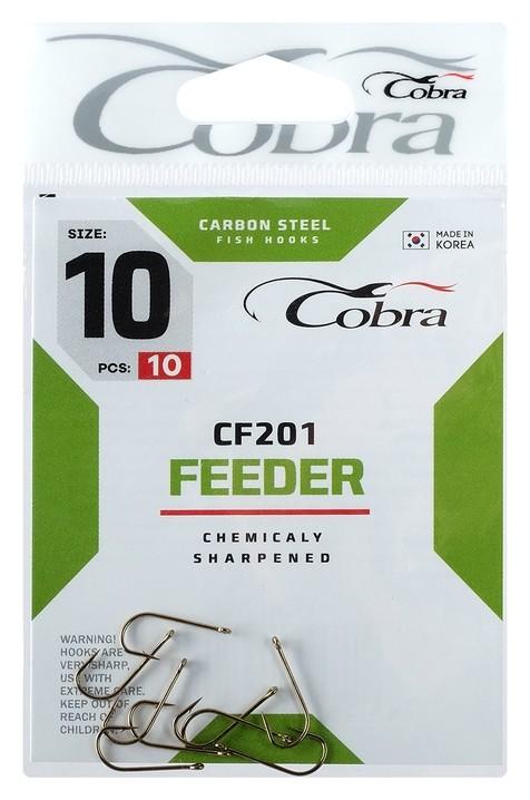Крючки Cobra Feeder Cf201-10, 10 шт.  Cobra