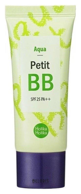 Купить Тональный крем для лица Holika Holika, ББ крем для лица Petit BB Aqua SPF25 PA++, Южная Корея