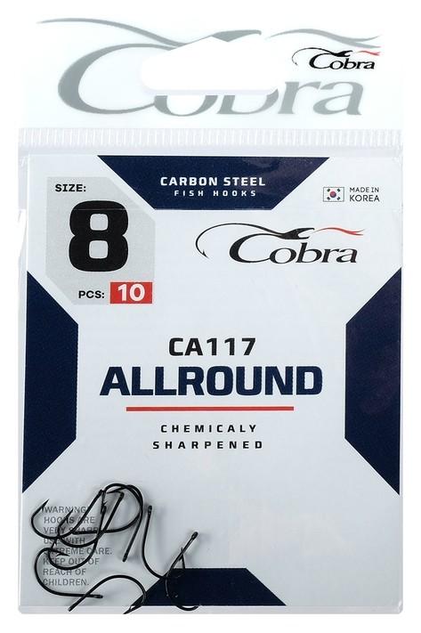 Крючки Cobra Allround Ca117-8, 10 шт.  Cobra