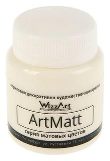 Краска акриловая Matt 80 мл Wizzart слоновая кость матовый Wt3.80 WizzArt