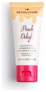 Праймер для лица матирующий Peach Delight Mattifying Primer With Vitamin C And E I Heart Revolution