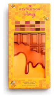 Палетка теней для век Honey Chocolate Palette I Heart Revolution