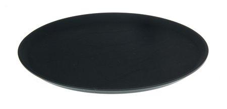 Поднос, D=40 см, цвет чёрный  NNB