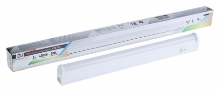 Светильник светодиодный IN Home спб-т5, 5 Вт, 160-260 В, 4000 К, 400 Лм, Ip40, D=300 мм  INhome