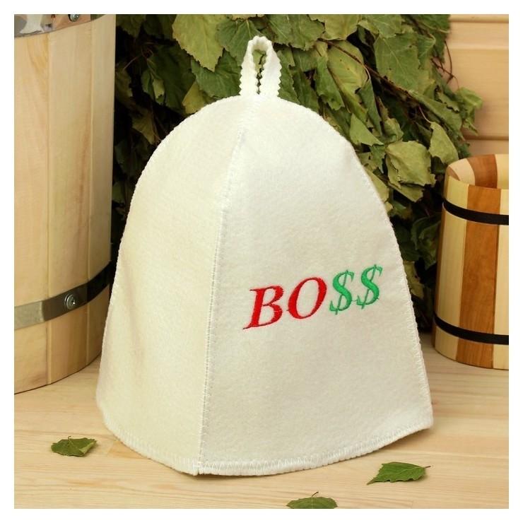 "Банная шапка ""Боss""  NNB"
