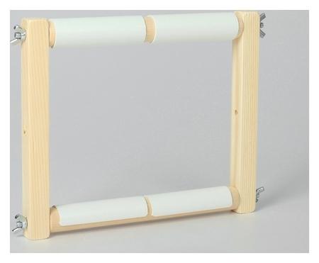 Пяльцы-рамка для вышивания, 20 × 20 см, цвет светлое дерево  NNB