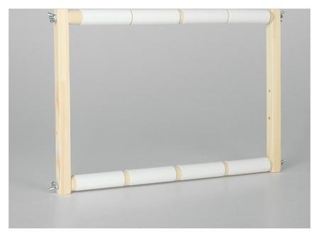 Пяльцы-рамка для вышивания, 30 × 40 см, цвет светлое дерево  NNB