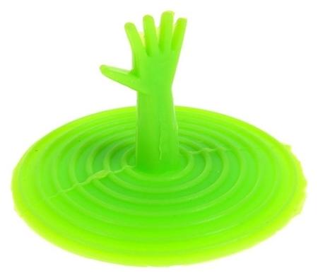Пробка для ванны D=6,5 см, силикон  NNB