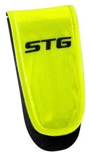 Катафот велосипедиста STG 49011 на липучке, 3 красных диода