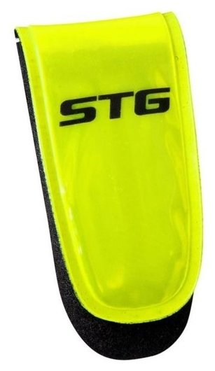 Катафот велосипедиста STG 49011 на липучке, 3 красных диода  NNB